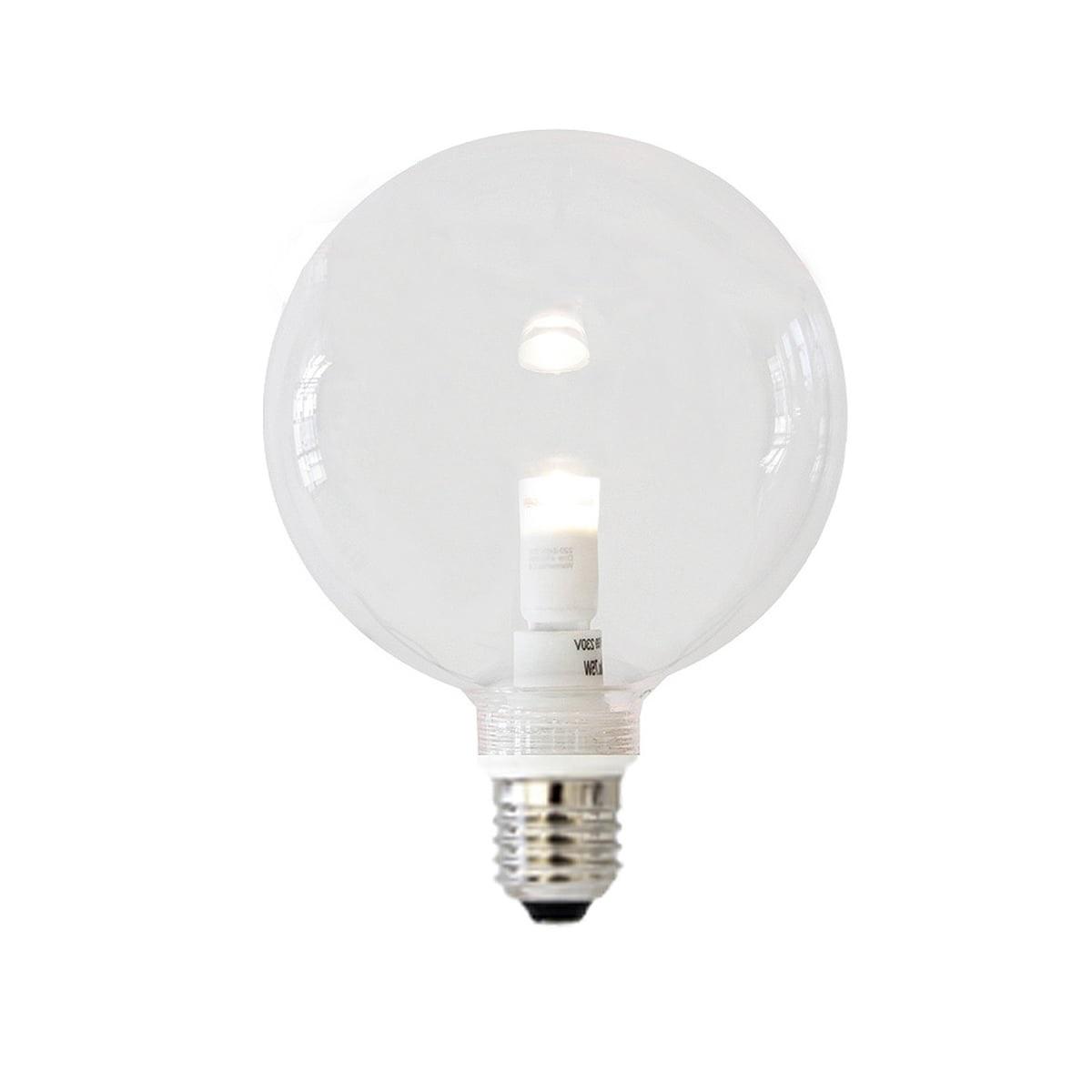 clear led lamp 100 mm gouts et couleurs. Black Bedroom Furniture Sets. Home Design Ideas